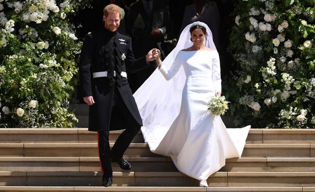 Фото №1 - Гарри женился на Меган: кто все эти люди?