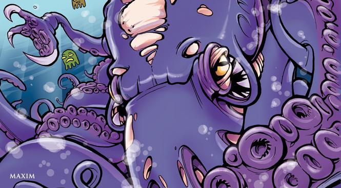 Фото №1 - Во что превратилась бы твоя интимная  жизнь, если бы ты был осьминогом, или коловраткой, или...
