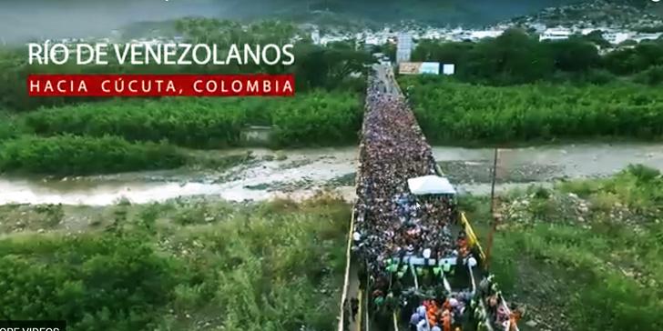 Фото №1 - Как бегут граждане из родной Венесуэлы