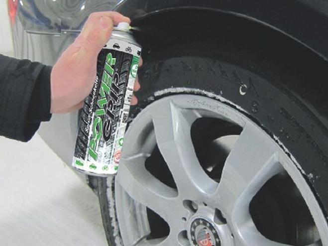 Дезодорант для улучшения сцепление колес с дорогой
