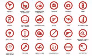 Интернет радуется списку запрещенных на Евровидении предметов