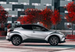 Toyota C-HR: дизайн рулит