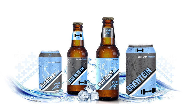 Фото №1 - Пиво для спортсменов! Наконец-то на свет появилось «пиво с протеином»!