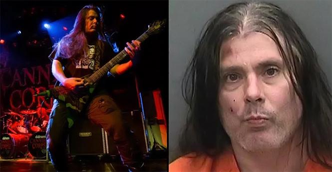 Фото №2 - Гитарист Cannibal Corpse арестован за вторжение в чужой дом и нападение на полицию после пожара