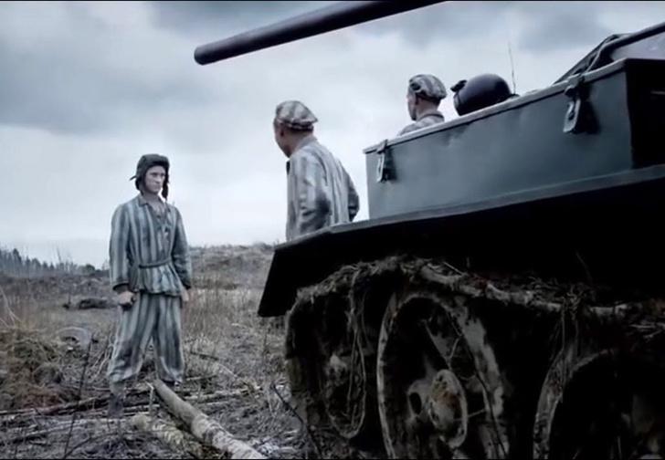 Фото №1 - Новый трейлер зрелищной военной драмы «Т-34»