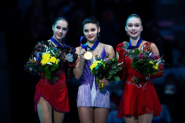 Фото №2 - Сенсация чемпионата Европы по фигурному катанию Софья Самодурова! Она победила саму Алину Загитову