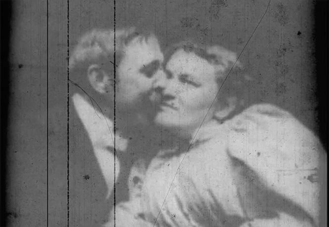 Фото №1 - Самый первый поцелуй в истории кино