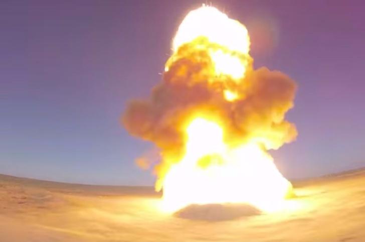 Фото №1 - Россия испытала новейшую противоракету. И вот как это выглядит (мощное ВИДЕО)
