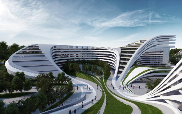 Фото №4 - Самые крутые здания женщины-архитектора Захи Хадид (плюс российские проекты и туфли)