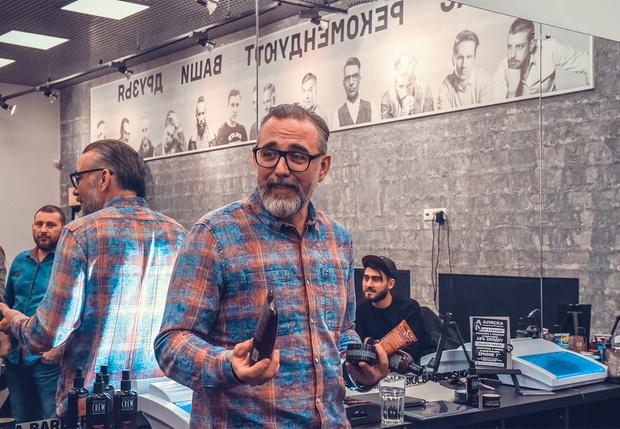 Хесус Муньос — арт-директор бренда American Crew в Европе