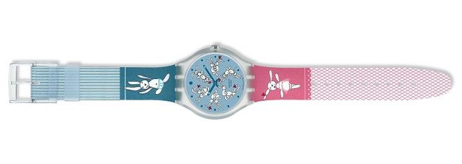 Swatch выпустил сексуальные часы