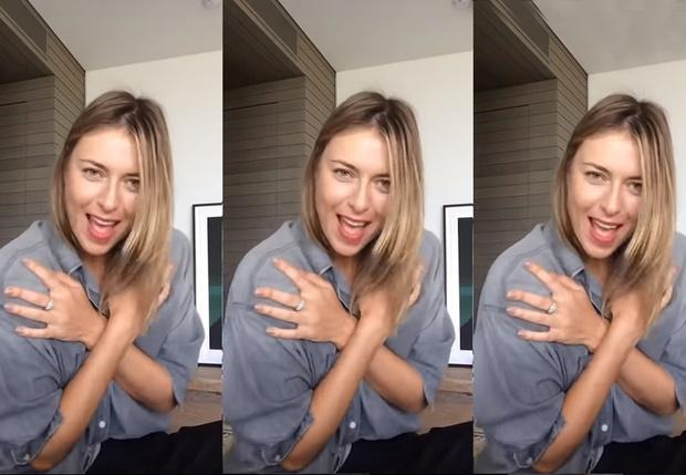 Фото №1 - Мария Шарапова лихо танцует и поет в новом клипе на хит Spice Girls