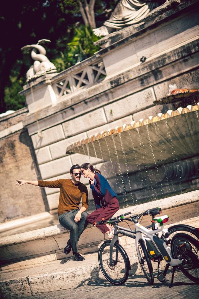 Рим на двух колёсах