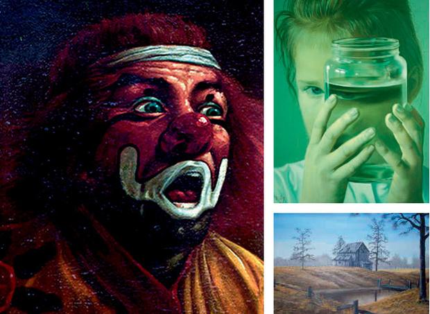 Картины разных личностей Билли Миллигана