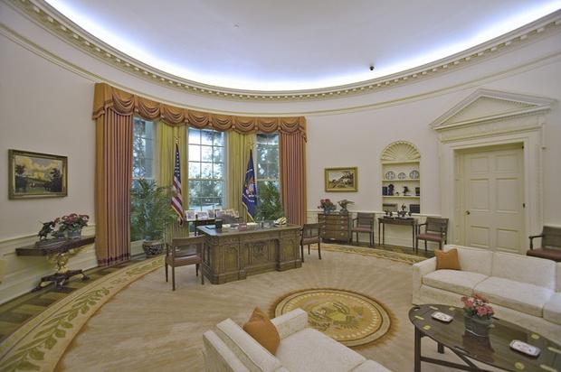 Фото №4 - 5 фактов об Овальном кабинете