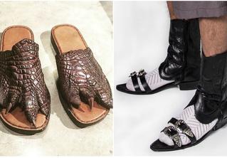 На что это ты наступил?! 30 пар самой ужасной обуви в мире