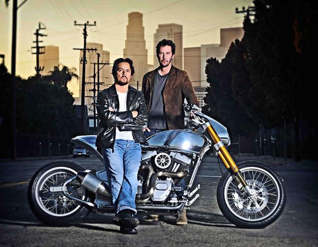 Фото №4 - «Потому что мы все умрем»: микросага о любви Киану Ривза к мотоциклам