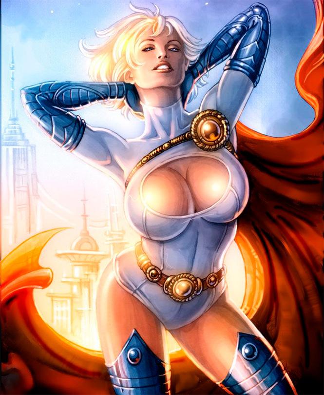 20 самых сексуальных героинь комиксов