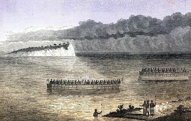 Открытое Ричардом озеро Танганьика