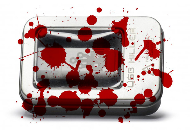 Фото №1 - Этот USB-убийца укокошит любой компьютер в считаные секунды!
