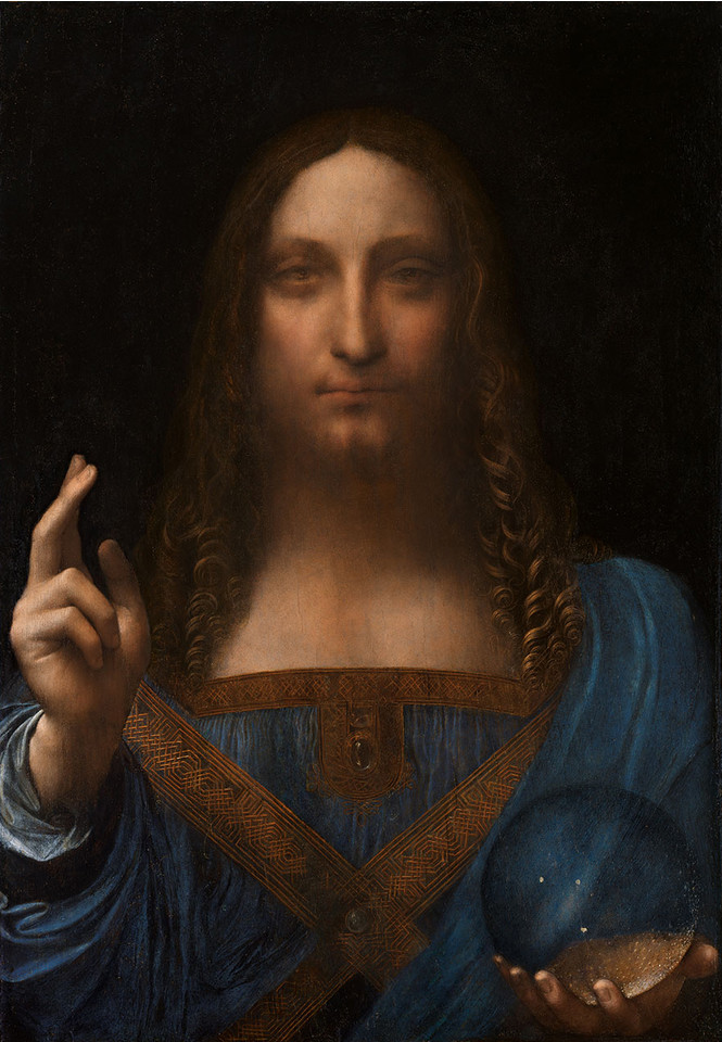 Вот как выглядит самое дорогое произведение искусства в мире
