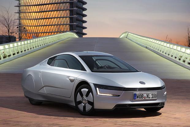 Фото №2 - Представлен Volkswagen, который расходует меньше литра бензина на 100 км