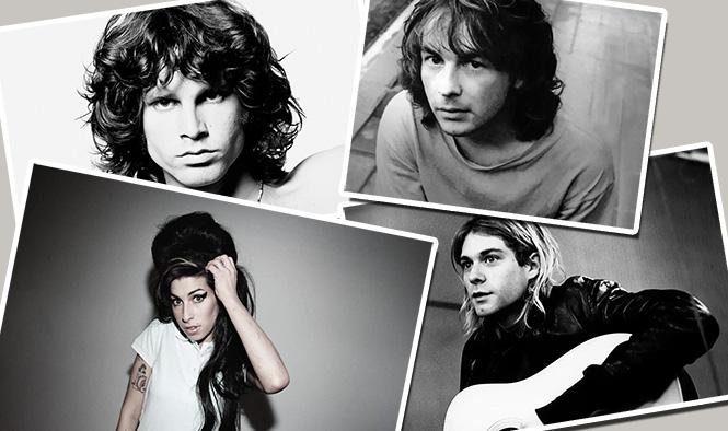 Фото №1 - «Клуб 27»: что думает статистика о легенде, будто лучшие музыканты уходят из жизни в 27 лет