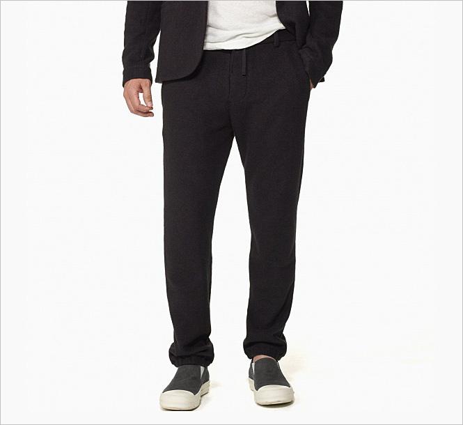 Лаконичные плотные тренировочные штаны