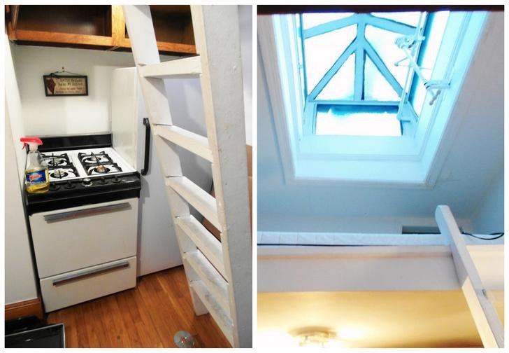 Фото №1 - Найдена самая тесная квартира в Нью-Йорке: всего 6 квадратных метров! (Видео!)