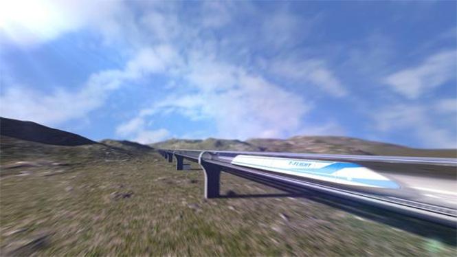 Фото №2 - Китайцы готовятся разогнать поезда до 4000 км/ч. Четырех тысяч!