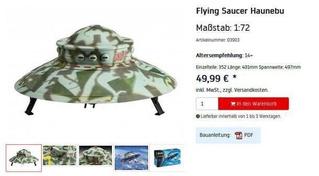 В Германии запретили продавать игрушечное нацистское НЛО