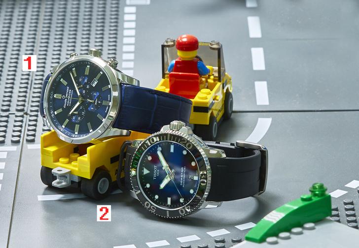 Фото №1 - Под уровнем моря: четыре модели водонепроницаемых часов
