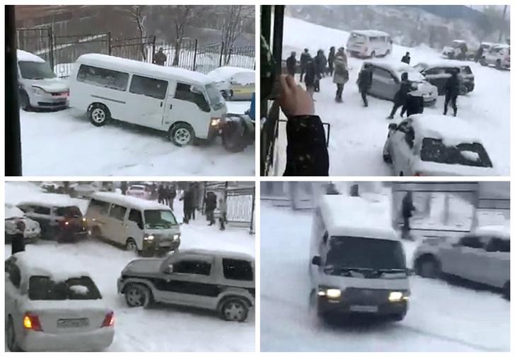 Фото №1 - Ежегодная дальневосточная забава «на машине с горы» — новое видео! И пара хороших старых