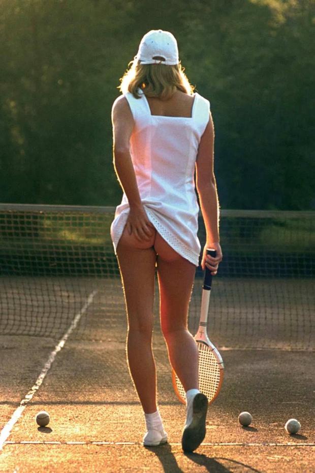 Фото №2 - История одной фотографии: «Теннисистка», сентябрь 1976 года