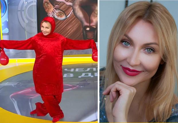 Фото №1 - Та самая актриса, сыгравшая женскую матку на Первом канале. Светлана Галка без грима и костюма!