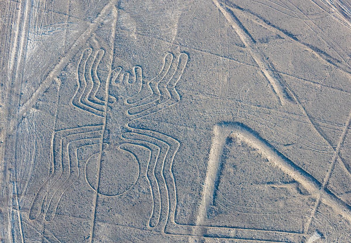 Таинственные рисунки в пустыне наска