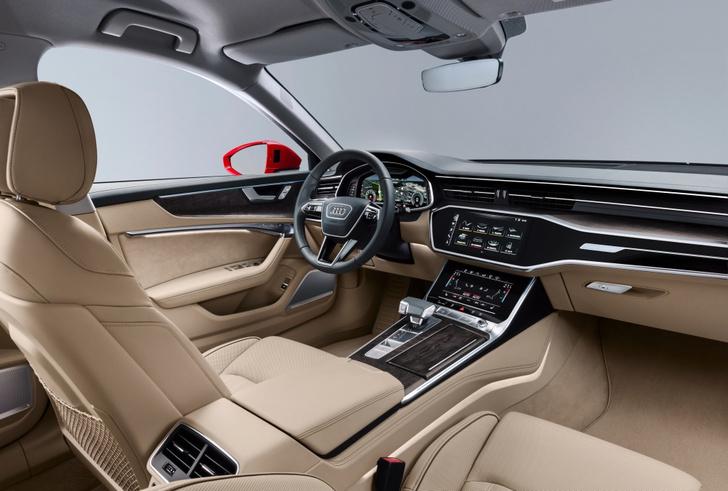 Фото №4 - Новый Audi A6 готов обходиться без водителя
