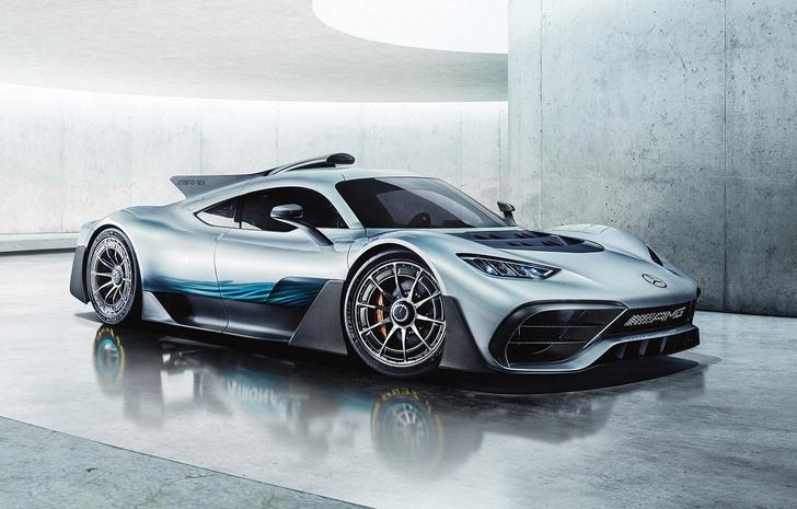 Фото №1 - Mercedes-AMG One: слушайся и повинуйся
