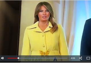 В Сети обсуждают ужас на лице Меланьи Трамп после рукопожатия Владимира Путина