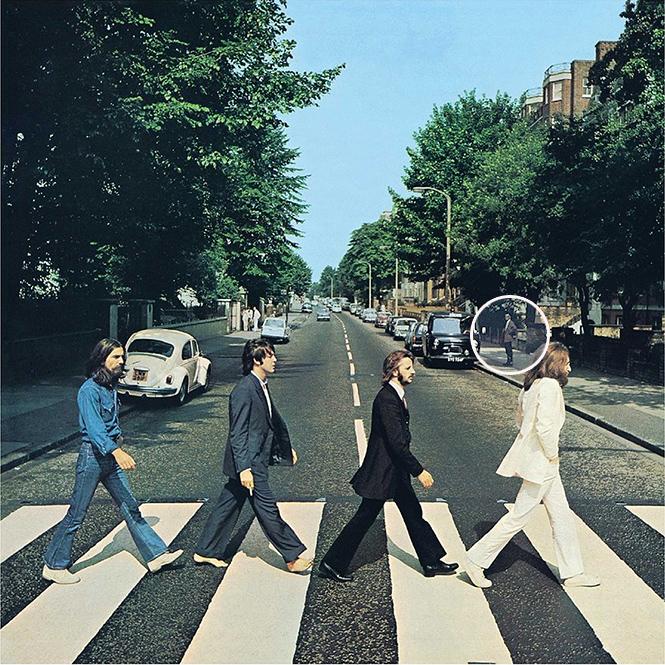 Фото №1 - Неужели это русский шпион на знаменитой обложке The Beatles?