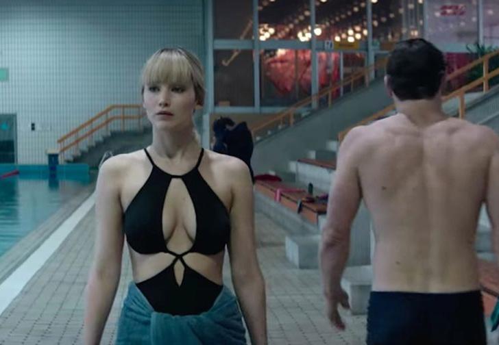 Фото №1 - Дженнифер Лоуренс демонстрирует приемы русского секс-шпионажа в трейлере фильма «Красный воробей»