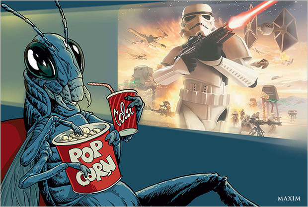 Воздействие «Звездных войн» на саранчу
