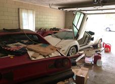 Девушка нашла у бабули в гараже редкий Lamborghini, пылившийся там лет 20 (фото прилагаются)