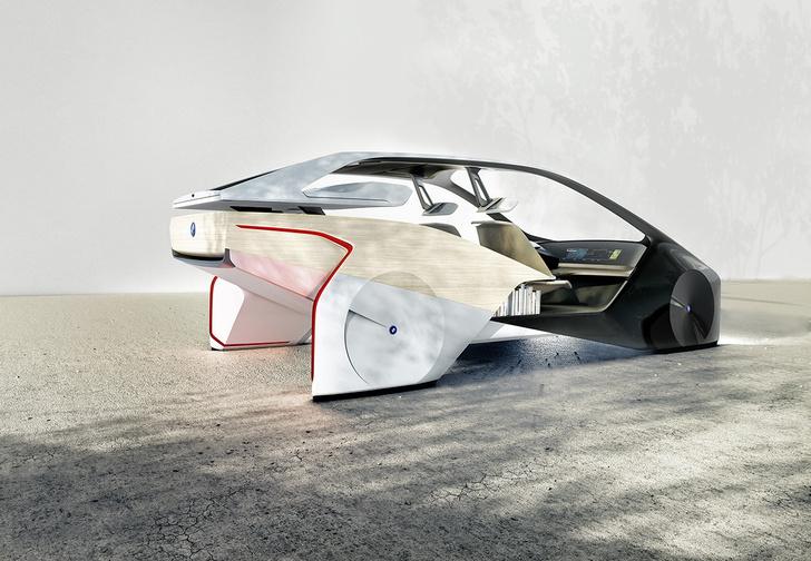 Фото №3 - BMW показала принципиально новый интерьер для беспилотных машин