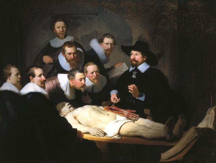 Рембрандт. Урок анатомии доктора Тульпа. 1632