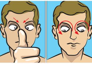 5 упражнений для глаз, уставших от монитора и смартфона