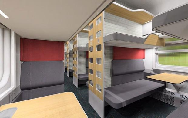 Фото №1 - РЖД показали прототипы интерьеров новых плацкартных вагонов (галерея)