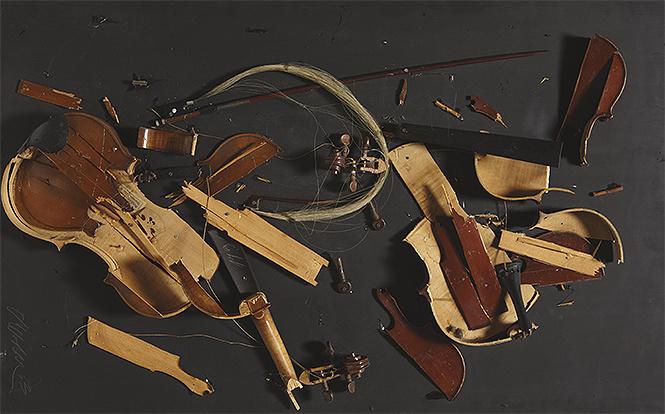 Безумная разведёнка уничтожила коллекцию скрипок прежнего мужа стоимостью $1 млн