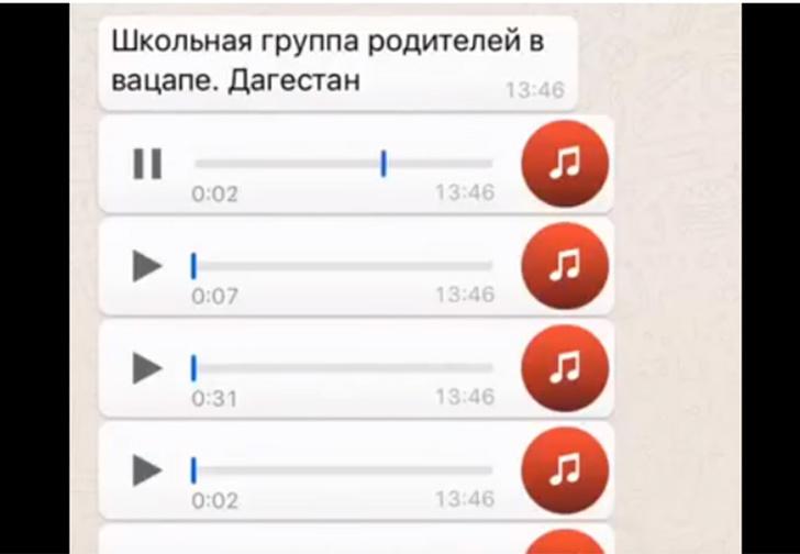 Фото №1 - Аудиосообщения из родительского чата дагестанской школы — лучшее, что случилось в Интернете на этой неделе