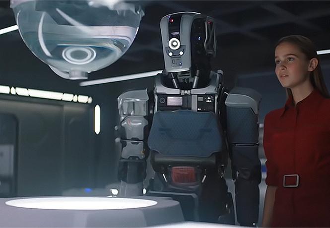 Фото №1 - Трейлер научно-фантастического триллера «Дитя робота»